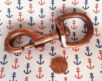 Hamilton Copper Nautical Hook