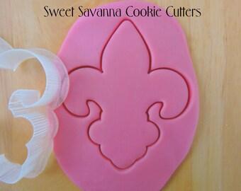 Fluer De Lis Cookie Cutter