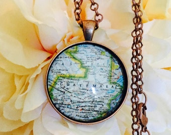 Custom Map/ Charleston Map Jewelry