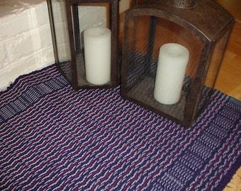 rag rug rag rugs purple rug woven rug hand woven rug - Rag Rugs