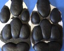 Silicone kangaroo feetpads