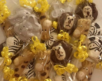 Jungle Animal themed lollipops-24