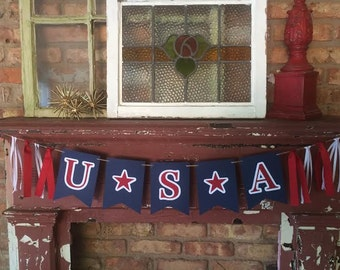 SALE! USA Banner~4th of July~America Banner
