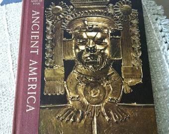 Vintage Time Life Ancient America Great Ages of Man book