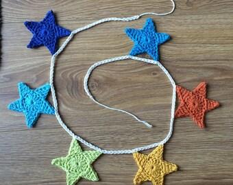 Crochet Star Bunting - Crochet Bunting