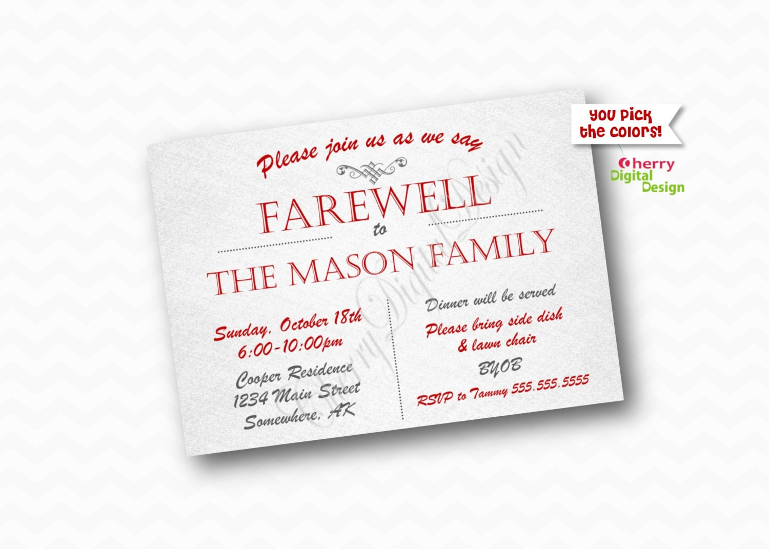 Simple Printable Farewell Party Invitation Goodbye Party – Farewell Party Invitation Email