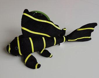 Neon Plecostomus Plush Yellow