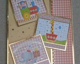 Handmade C5 Greeting Card - Birthday