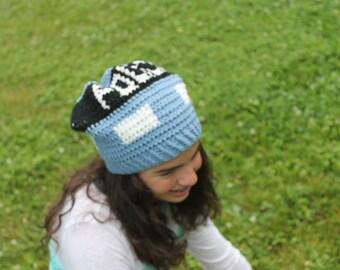 Tardis slouchy hat