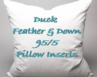 Feather/Down and Feather Insert  **WITH COVER ONLY**
