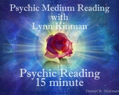 Psychic Medium Readings with Lynn Kinman NEED 15 MINUTES? 15 minute Psychic Reading  Can Be Emailed to Any Country w/ email
