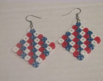 Fourth of july Dangle Earrings