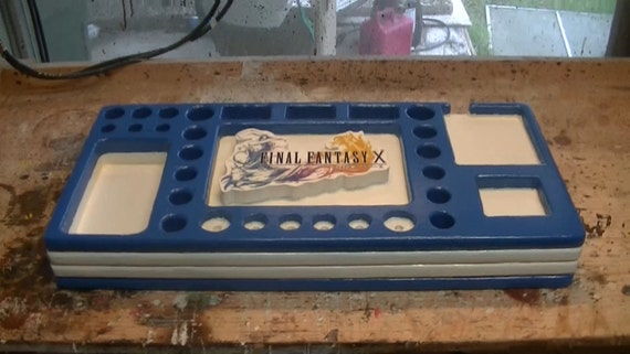 Vape Stand Designs : Final fantasy themed vape stand