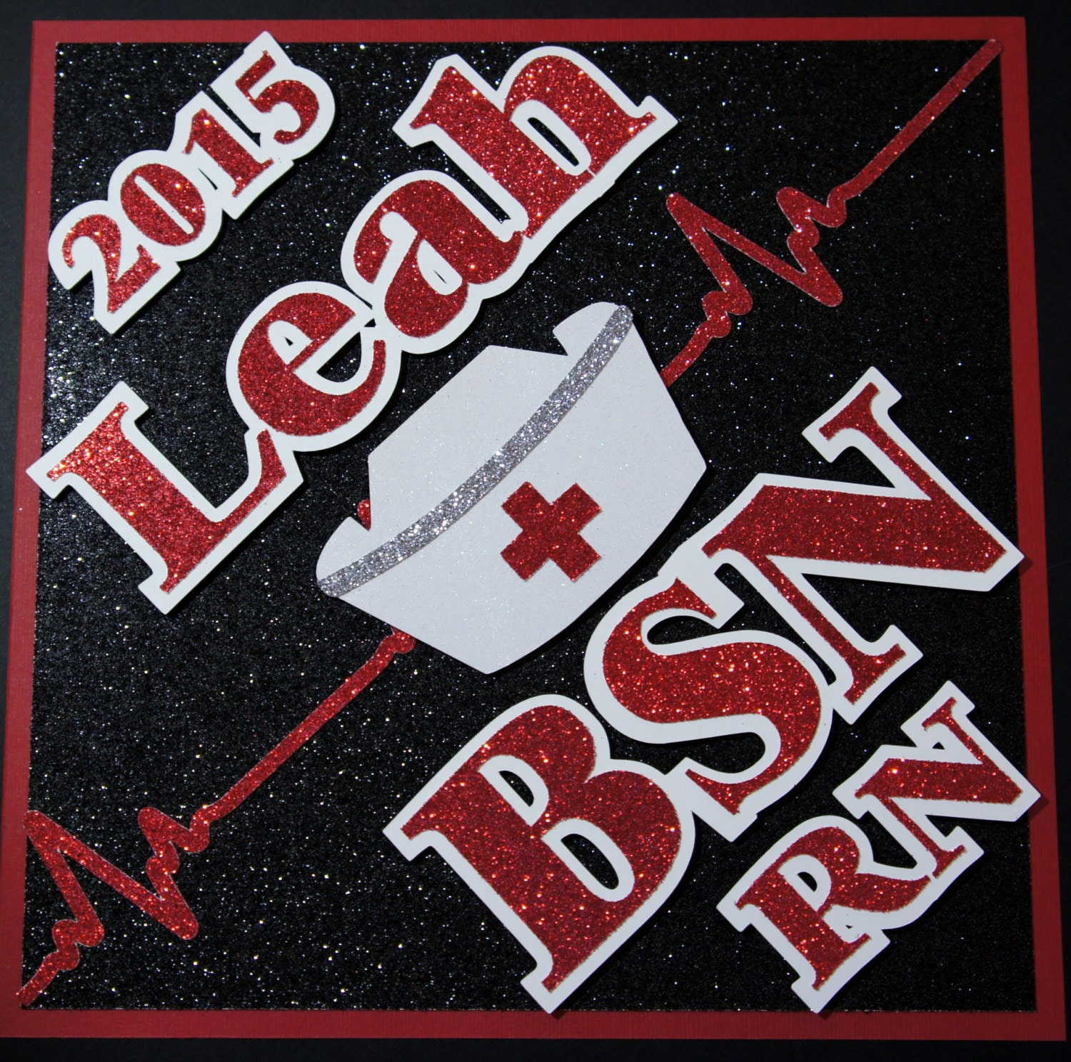 BSN RN Custom Nurse Graduation Cap Decoration Topper