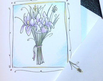 Iris Notecards