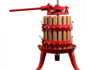 Traditional Fruit Press 4.5 Litre Capacity Model 11050 home brew wine making cider