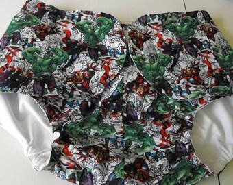 AB Diaper Cover - Superhero