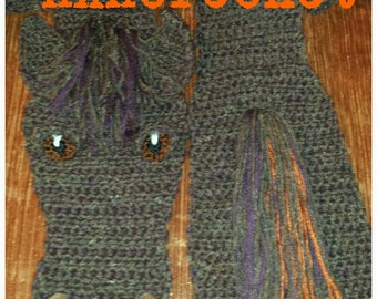Custom horse scarves  --adult listing