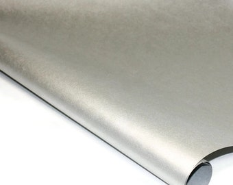 Metallic Mulberry Paper - Shimmering Silver