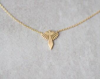 Aztec Bird Necklace
