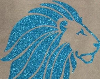 Alpha Delta Pi Glitter Lion Shirts