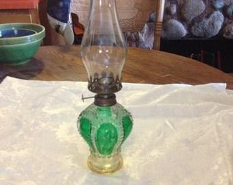 Vintage Crown Oil Lamp  from Hong Kong