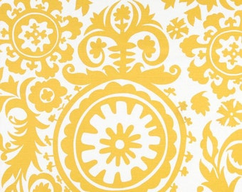 Yellow Valance. Yellow Suzani Valance .Valance. Yellow valence
