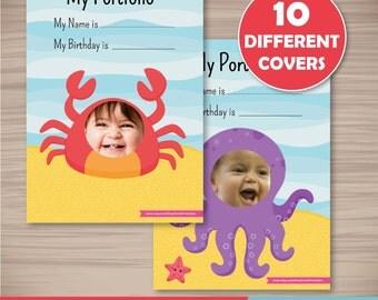 Ocean Theme Portfolio Pages