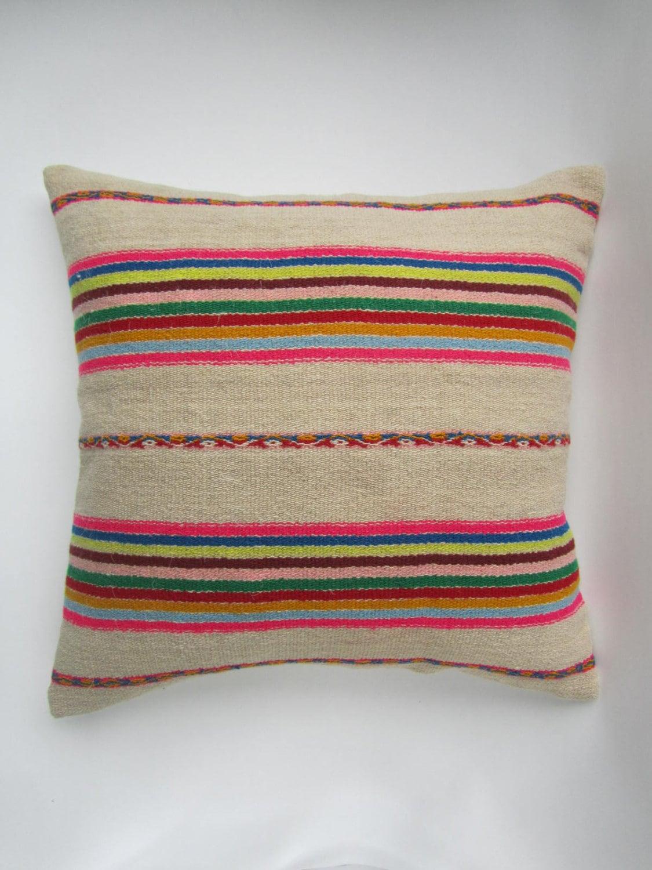 housse de coussin ethnique p ruvien coussin ethnique pad de. Black Bedroom Furniture Sets. Home Design Ideas