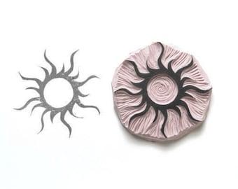 Sun Rubber Stamp | 012064