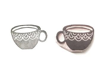 Teacup Stamp   015085