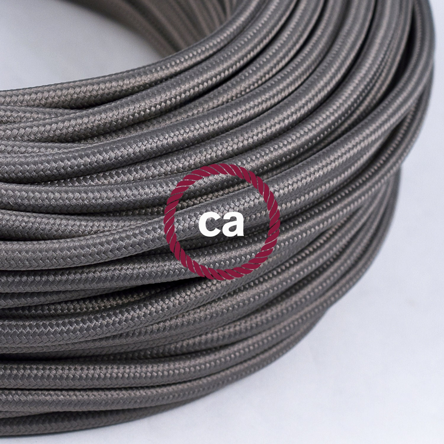 steel cloth covered wire vintage l cord by