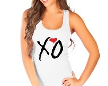 XO Tshirt the Weeknd Tank Top, Tank Tops drake weekend ovoxo hip yolo hop rap dope trap