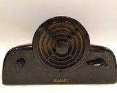 Vintage Pair Bakelite Amplicall Art Deco Intercoms