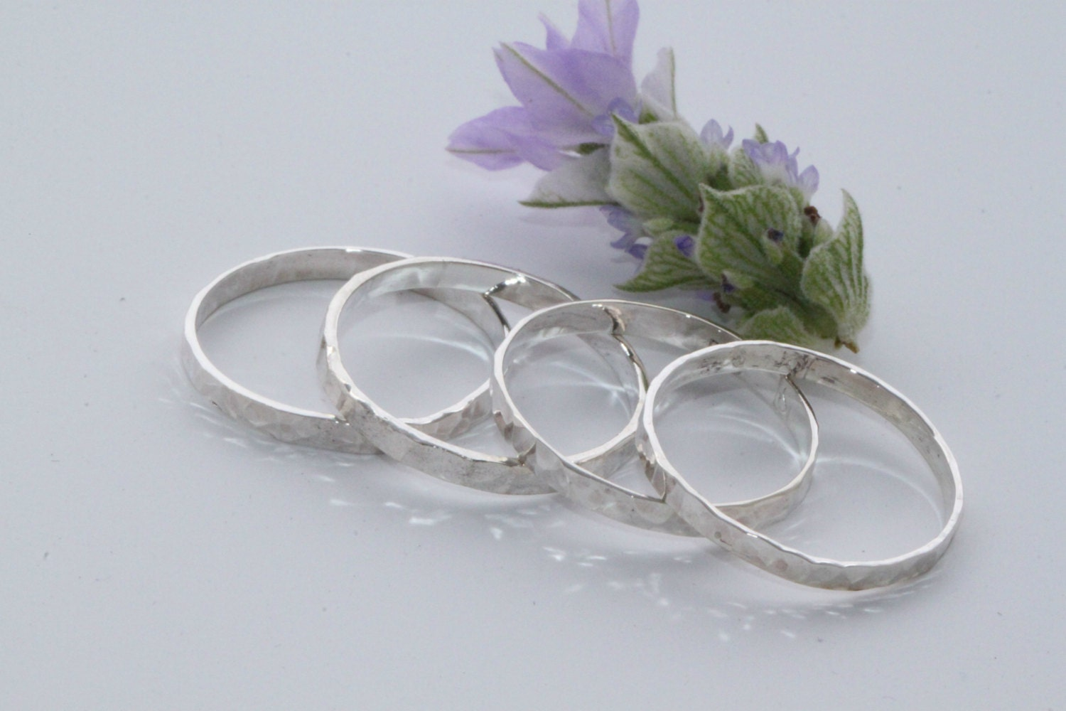 stacking rings silver silver rings stacking silver rings