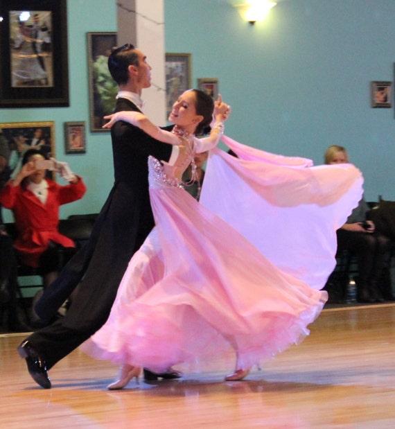 Princess Pink Ballroom Dance Dress