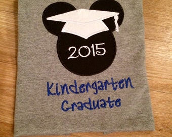 Minnie or Mickey Mouse Graduation Disney by ... |Graduation Mickey Mouse Shirts