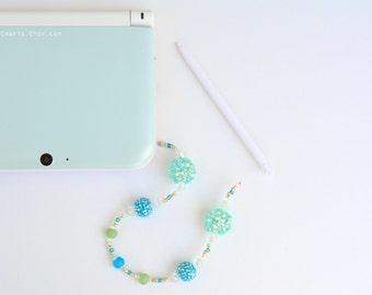 3DS, 3DS XL/LL Charm // Mint Stylus Charm //