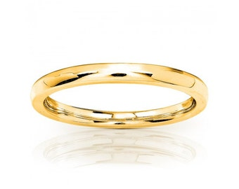 14K Yellow Gold Wedding Band (1.7mm)