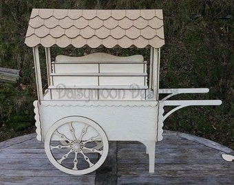 Candy Cart Table top version for Weddings and table decorations