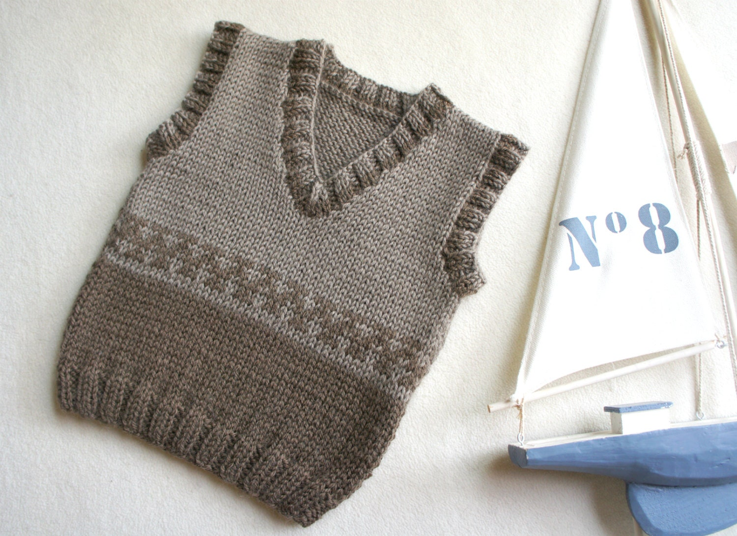 Baby Knitted Vest Pattern