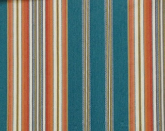Home Decor Fabrics By The Yard home decor fabric designer fabric blue floral periwinkle teal seafoam blue Teal And Orange Stripe Upholstery Fabric Home Decor Fabric By The Yard Upholstery Fabric