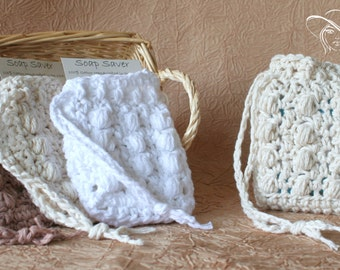 Luxury Cotton Soap Saver