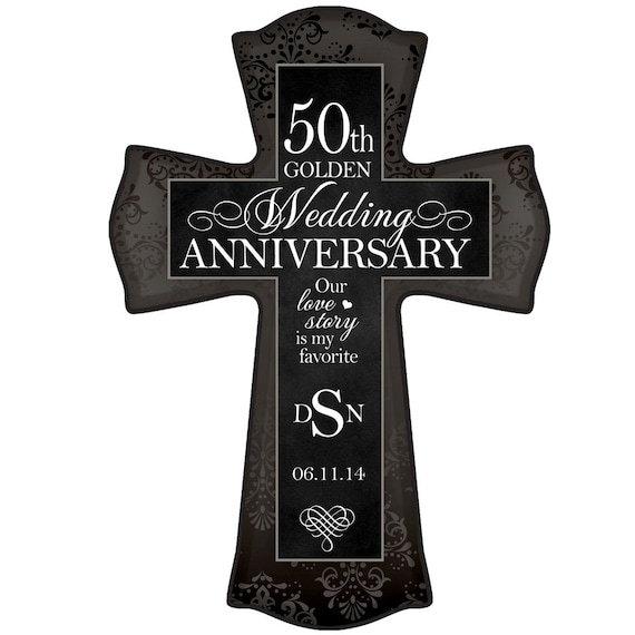 Gifts For Grandparents 50th Wedding Anniversary: Personalized 50th Wedding Anniversary Wall By