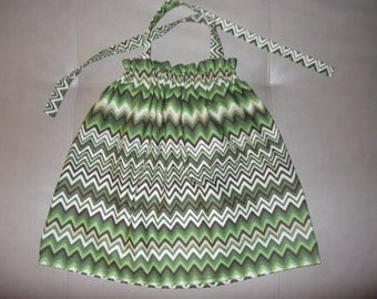 CLEARANCE - 100% Cotton Halter Top Sundress - Summer Dress - Size 18-24 months Only - OOAK