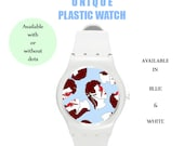 David Bowie,ziggy stardust,watch,plastic watch,80's,90's,80s,wrist watch,cool,unisex,rock,british,gift,indie,hipster,unisex,man,london,glam