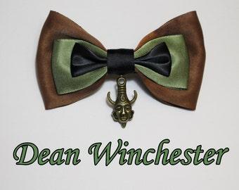 Dean Winchester Hair Bow