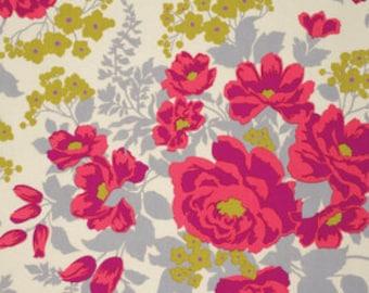Joel Dewberry Flora Rose Bouquet Poppy (Half metre)