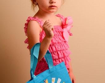 Bright Blue Sun Tote Bag