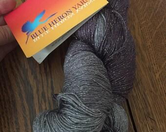 Blue Heron Yarn-winter sky